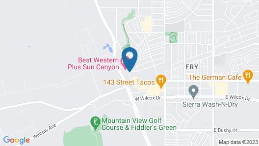 Garden Place Suites Map