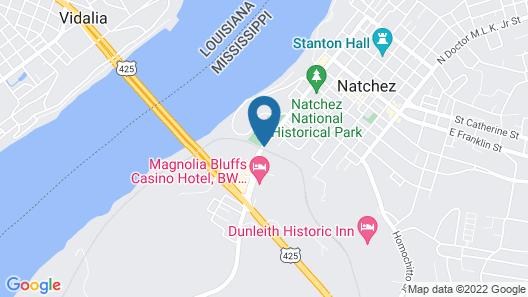 Holiday Inn Express Hotel & Suites Natchez South, an IHG Hotel Map