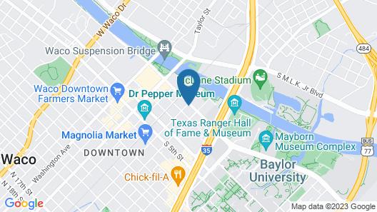 Residence Inn Waco Map