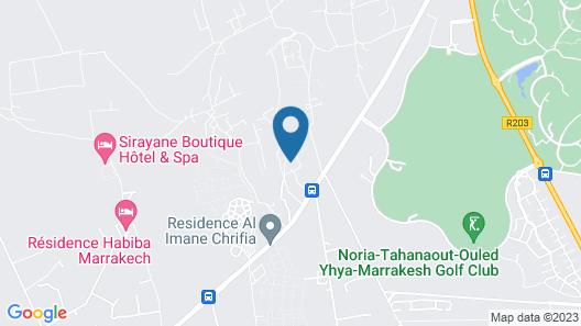 Villa D'artiste Dar Jmel Map