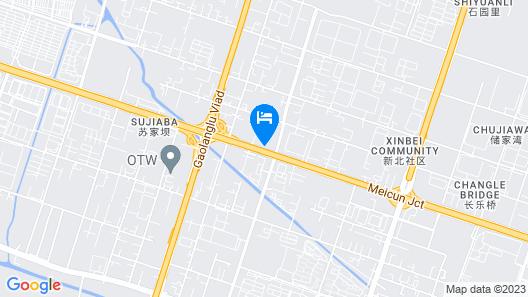 GreenTree Inn Wuxi Qingyang Road Express Hotel Map
