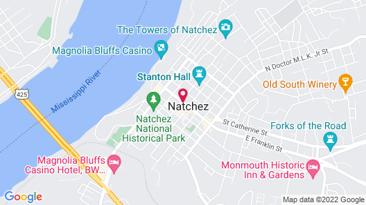 The Guest House Historic Mansion Map