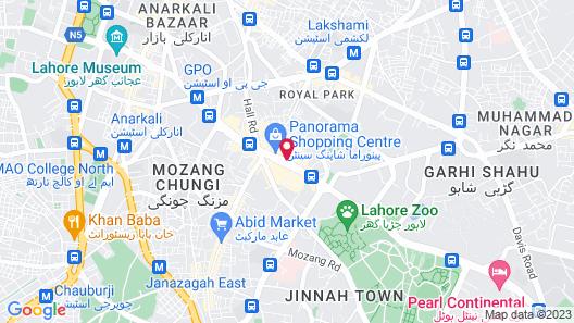 Panoramic Hotel Map