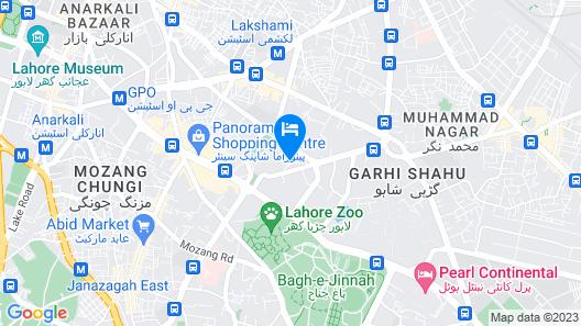 Faletti's Hotel Map