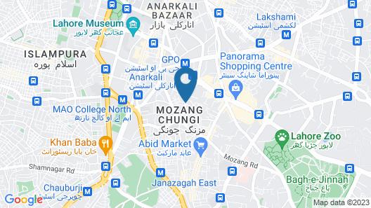 Best Western Hotel Map