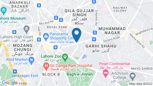 Four Points by Sheraton Lahore Map