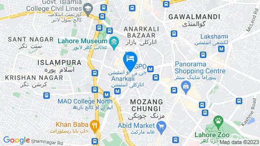 Tourist INN Map