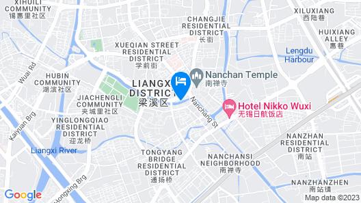 Hotel Nikko Wuxi Map