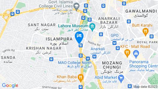 Amer Hotel Map