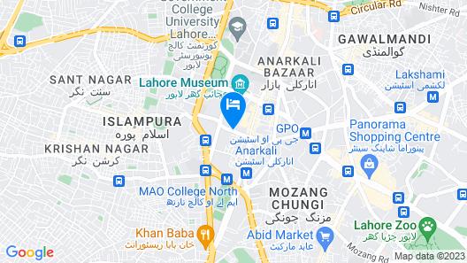 HOTEL TOURIST INN Map