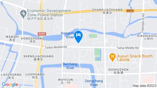 Maanshan Changjiang International Hotel Map