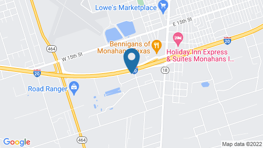 Monahans Country Inn Map