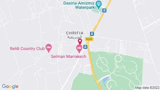 Selman Marrakech Map