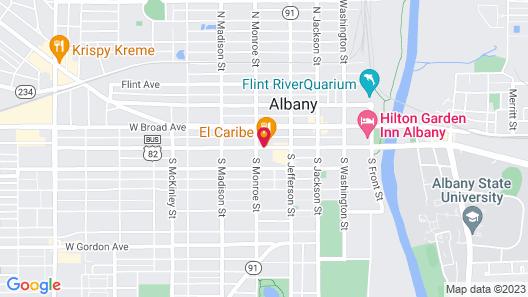 Days Inn by Wyndham Albany Map