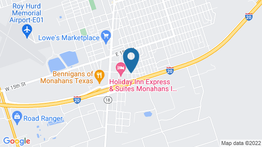 Holiday Inn Express Hotel & Suites Monahans - I-20, an IHG Hotel Map