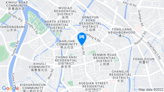 Grand Park Wuxi Map