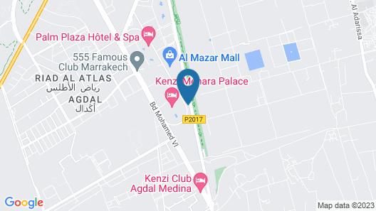 Al Fassia Aguedal Map