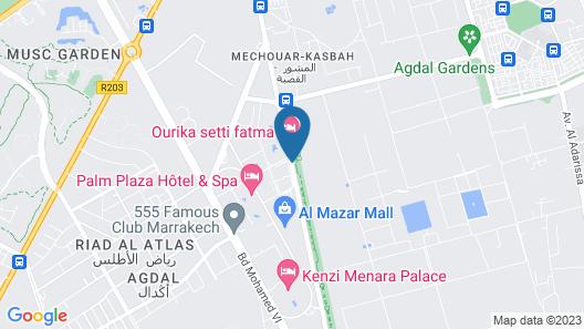 Riad Mayo Map