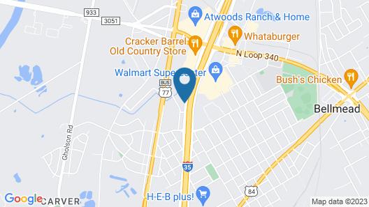 Days Inn by Wyndham Waco Map