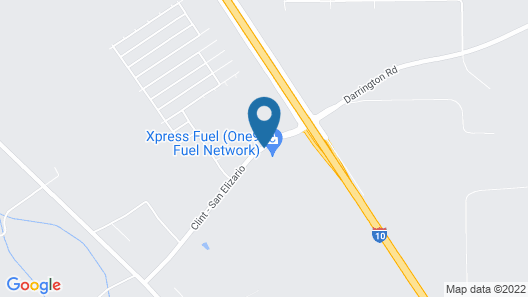Cotton Valley Motel Map
