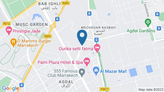 Appartement Al Qantara Map