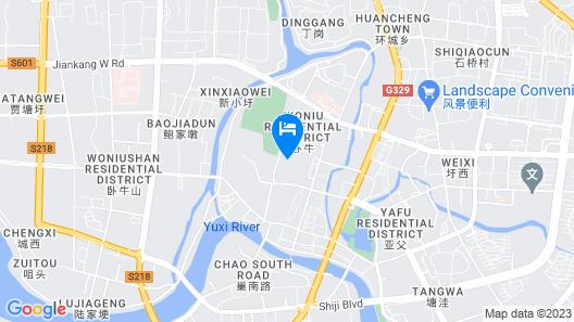 Country Garden Phoenix Hotel Binhu City Map