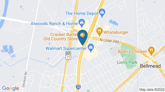 Hampton Inn Waco Map