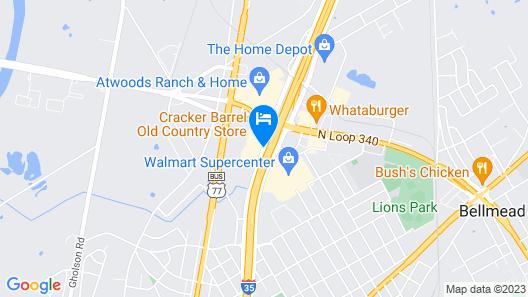Fairfield Inn & Suites by Marriott Waco North Map