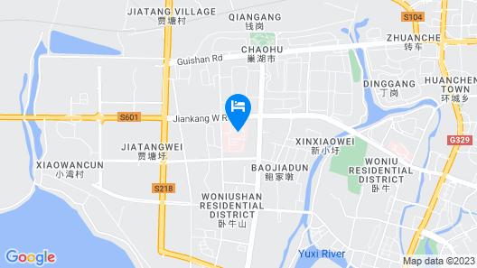 Greentree INN Chaohu Health Road Love Heart Hospit Map