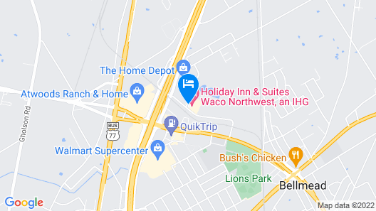 Holiday Inn Hotel & Suites Waco Northwest, an IHG Hotel Map