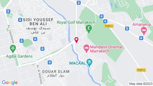 Mandarin Oriental, Marrakech Map