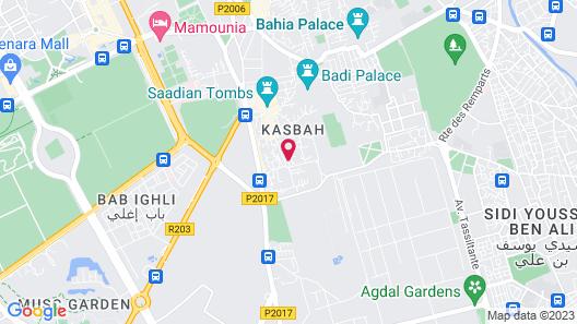 Riad Hikaya Map