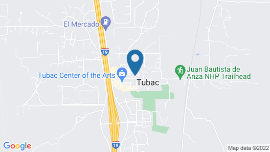 Tubac Country Inn Map