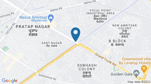 Hyatt Regency Amritsar Map