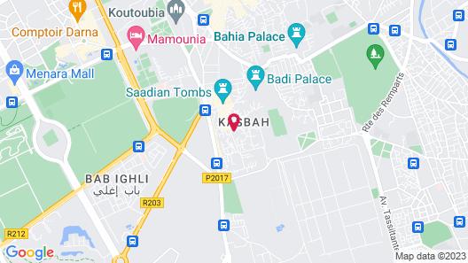 Almaha Marrakech & Spa  Map