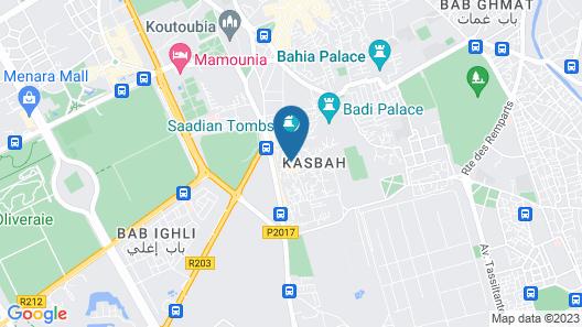 Riad belko - Hostel Map