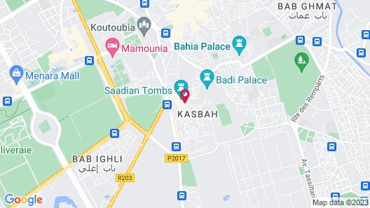 La Sultana Marrakech Map