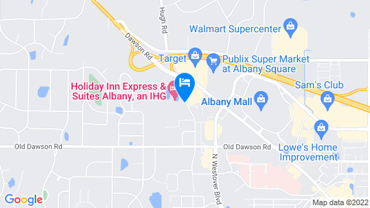 Holiday Inn Express Hotel & Suites Albany, an IHG Hotel Map