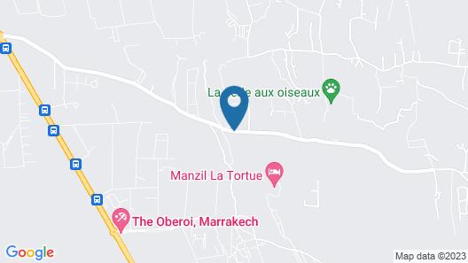 L´Oliveraie de L´Atlas Map