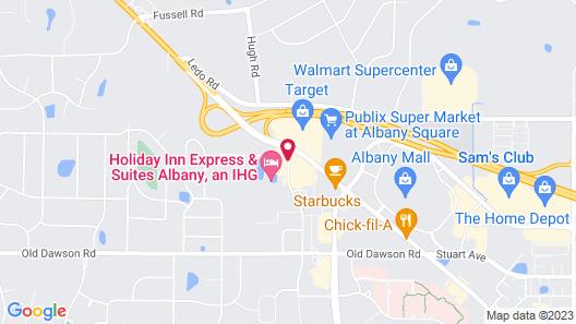 Park Inn by Radisson Albany Map