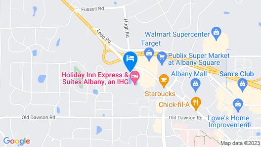 Fairfield Inn & Suites by Marriott Albany Map