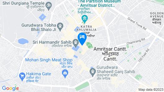 Hotel CJ International Map