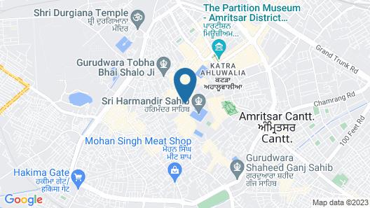 Hotel Hari Darshan By Cytech Map