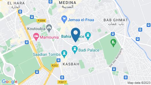 Riad Jona Map