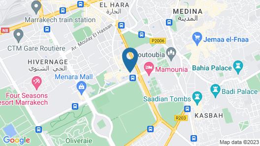 Sofitel Marrakech Palais Imperial Map