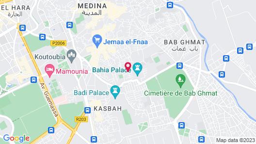 Riad Melhoun & Spa Map
