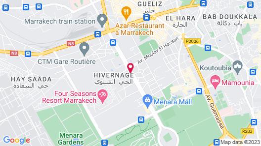 Grand Mogador MENARA Map