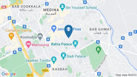 Riad Mehdia Map