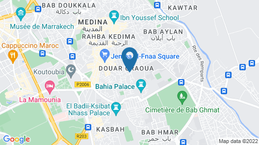 Boho 27 Hostel Marrakech Map