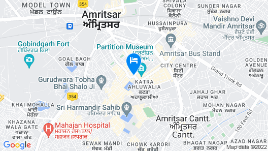 Bharawan Clarks Inn Express Map